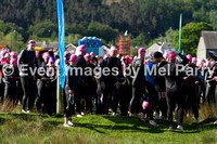Water leg, first phase (pink hats) - sprint