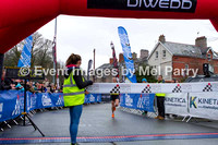 06a Finishing line, adults - the fastest and first home, from 1hr 7mins to approx. 1hr 37mins