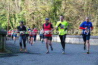 Cwm Cadnant (approx. 1.5 miles) - middle to fastest